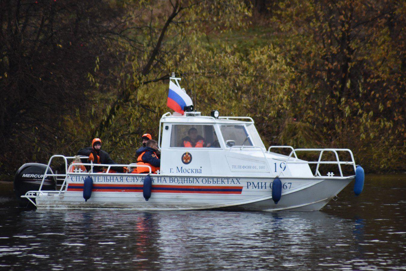 Спасатели Московской городской поисково-спасательной службы на водных объектах перешли на усиленный режим работы