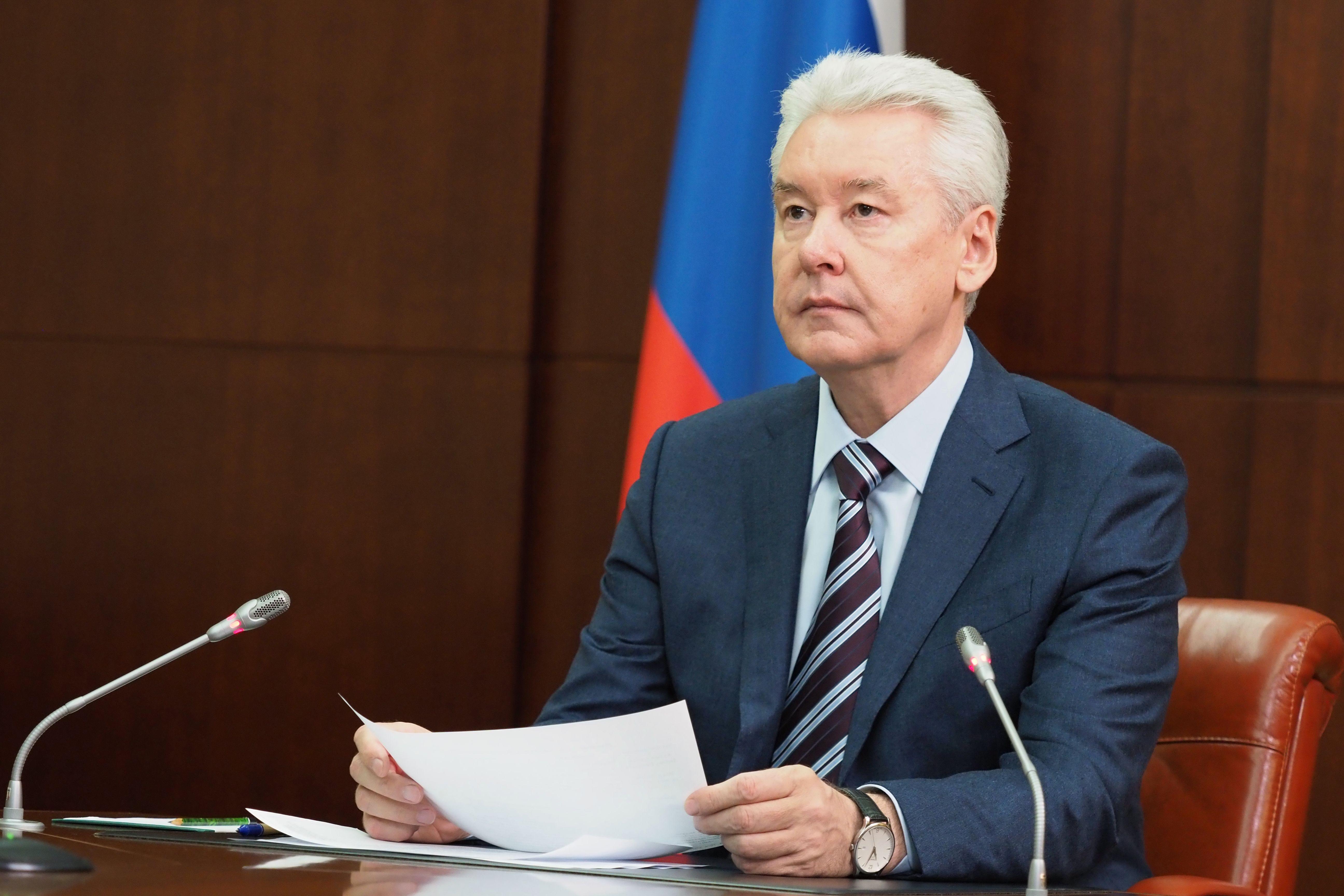 Сергей Собянин дал старт проходке тоннеля Большой кольцевой линии