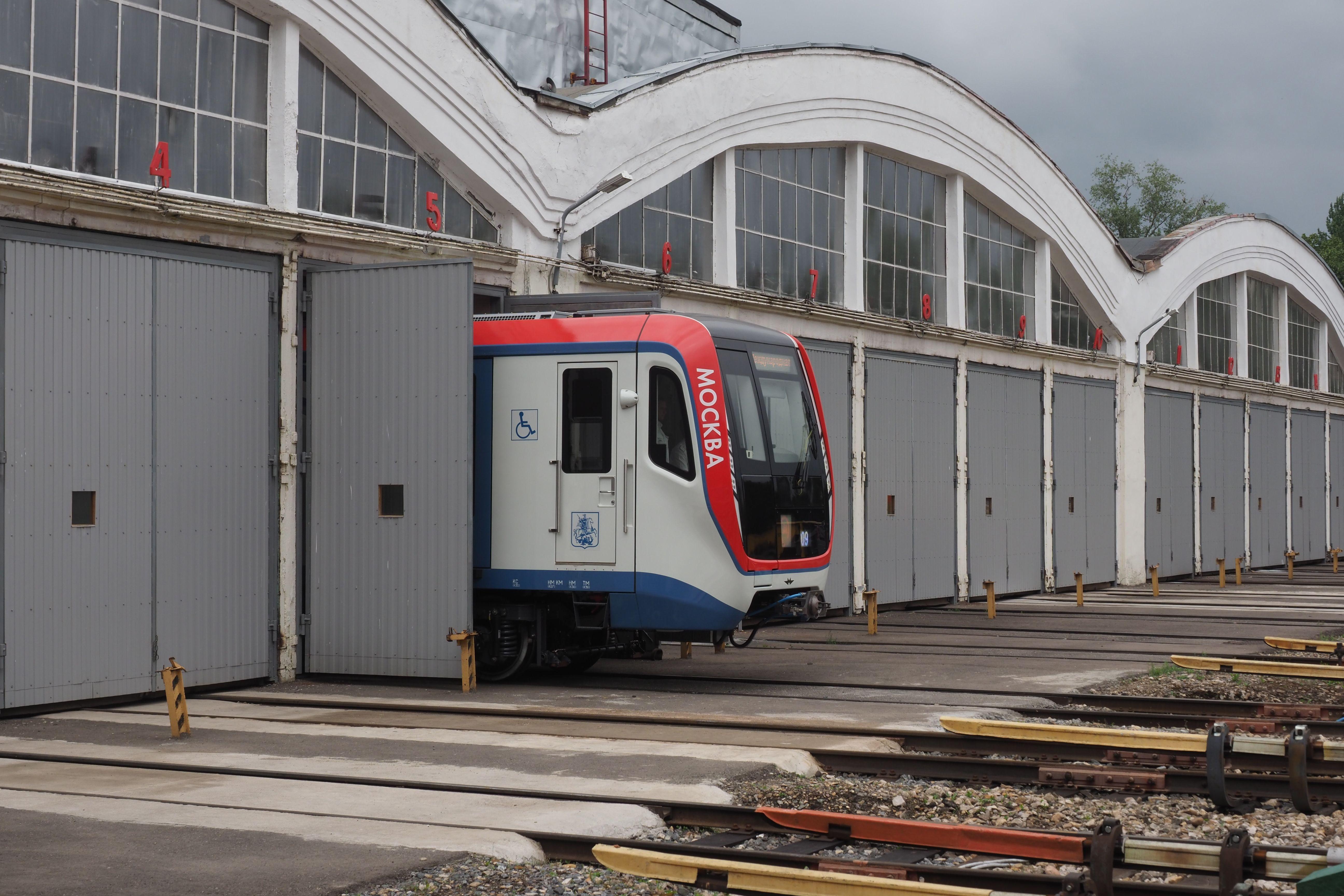 Метро Москвы частично перекроет Филевскую линию до понедельника
