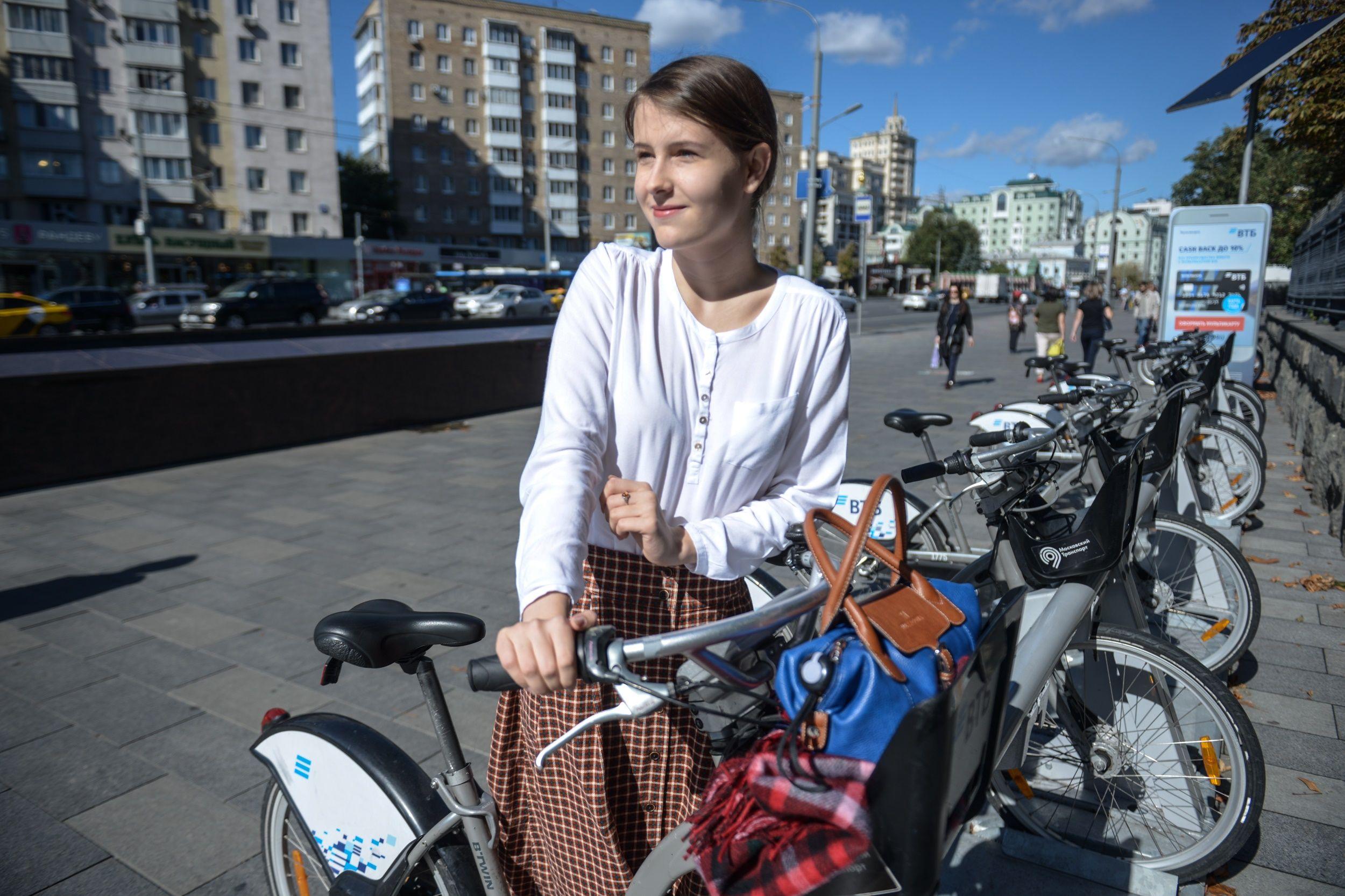 Московские велосипедисты установили новый рекорд
