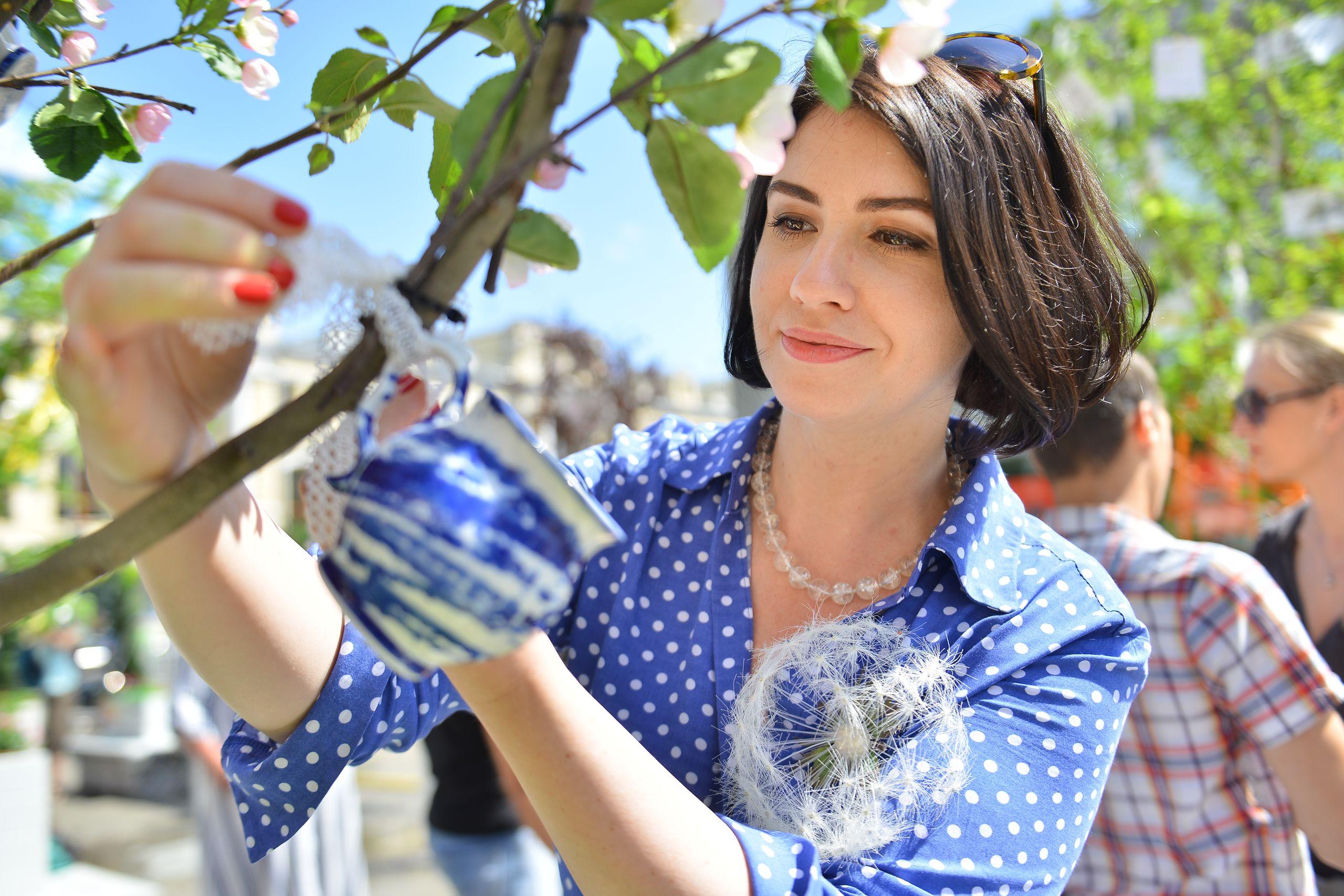По всей Москве открылось 42 выставочных сада. Фото: Наталья Феоктистова