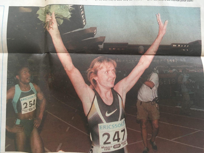 В 1998 году Елена выиграла золото на соревнованиях серии Гран-при. Фото из личного архива