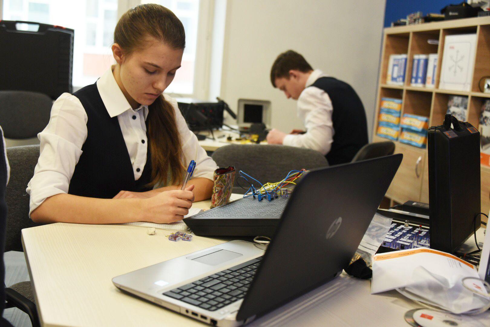 Московские школьники поборются за отбор в IT-классы