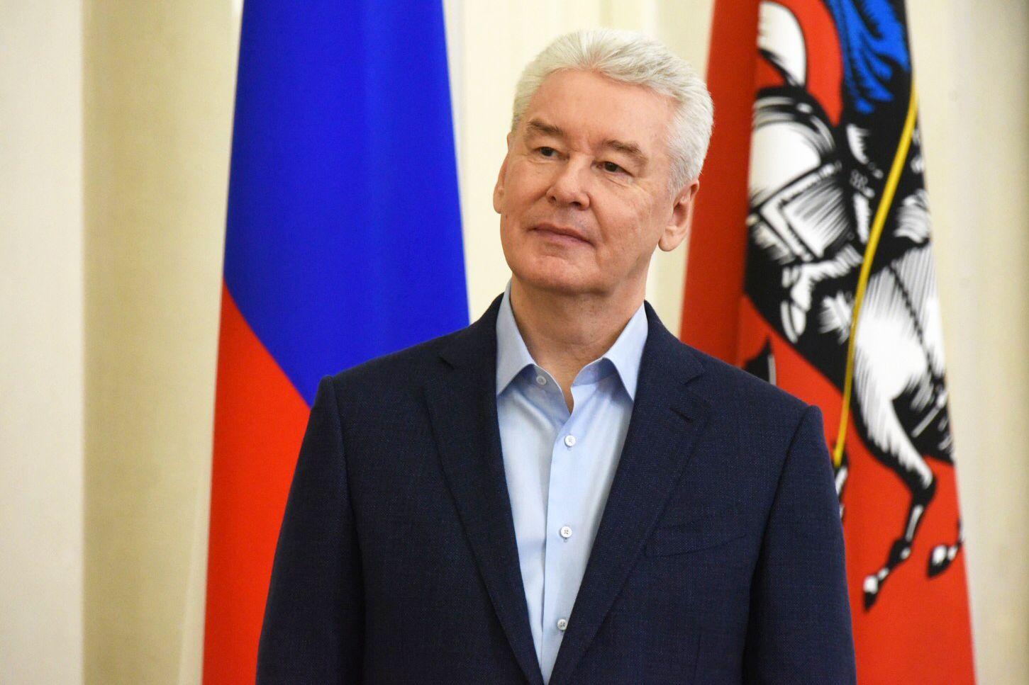 Мэр Москвы обратился к медработникам с поздравлением