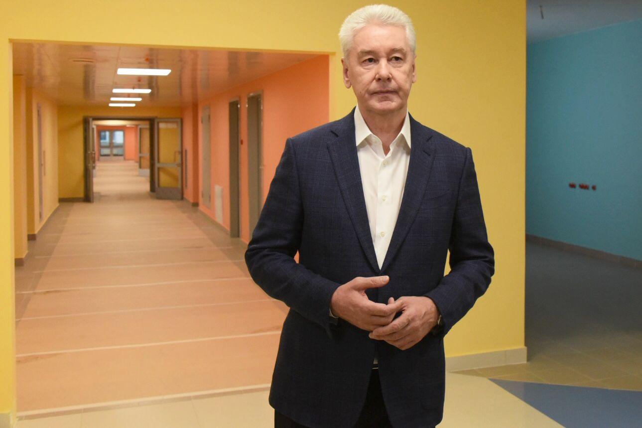 Собянин открыл Дворец гимнастики в «Лужниках»