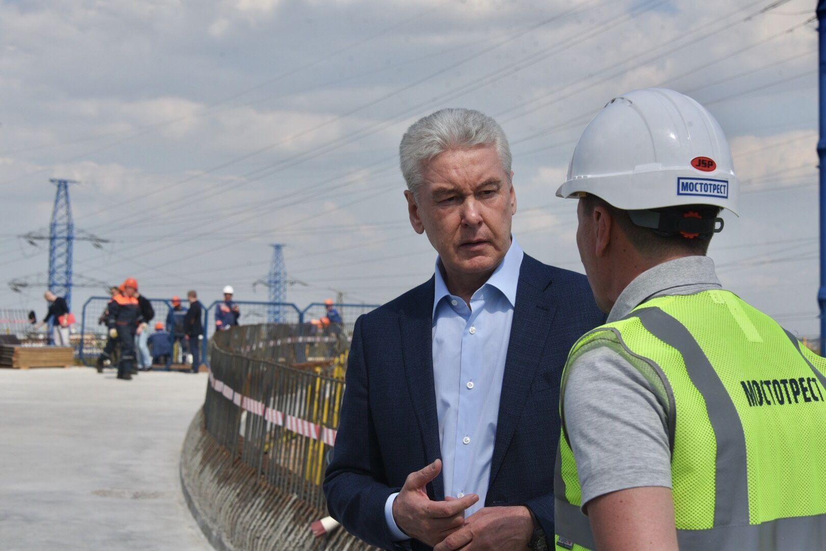 Сергей Собянин рассказал о транспортной сети Москвы