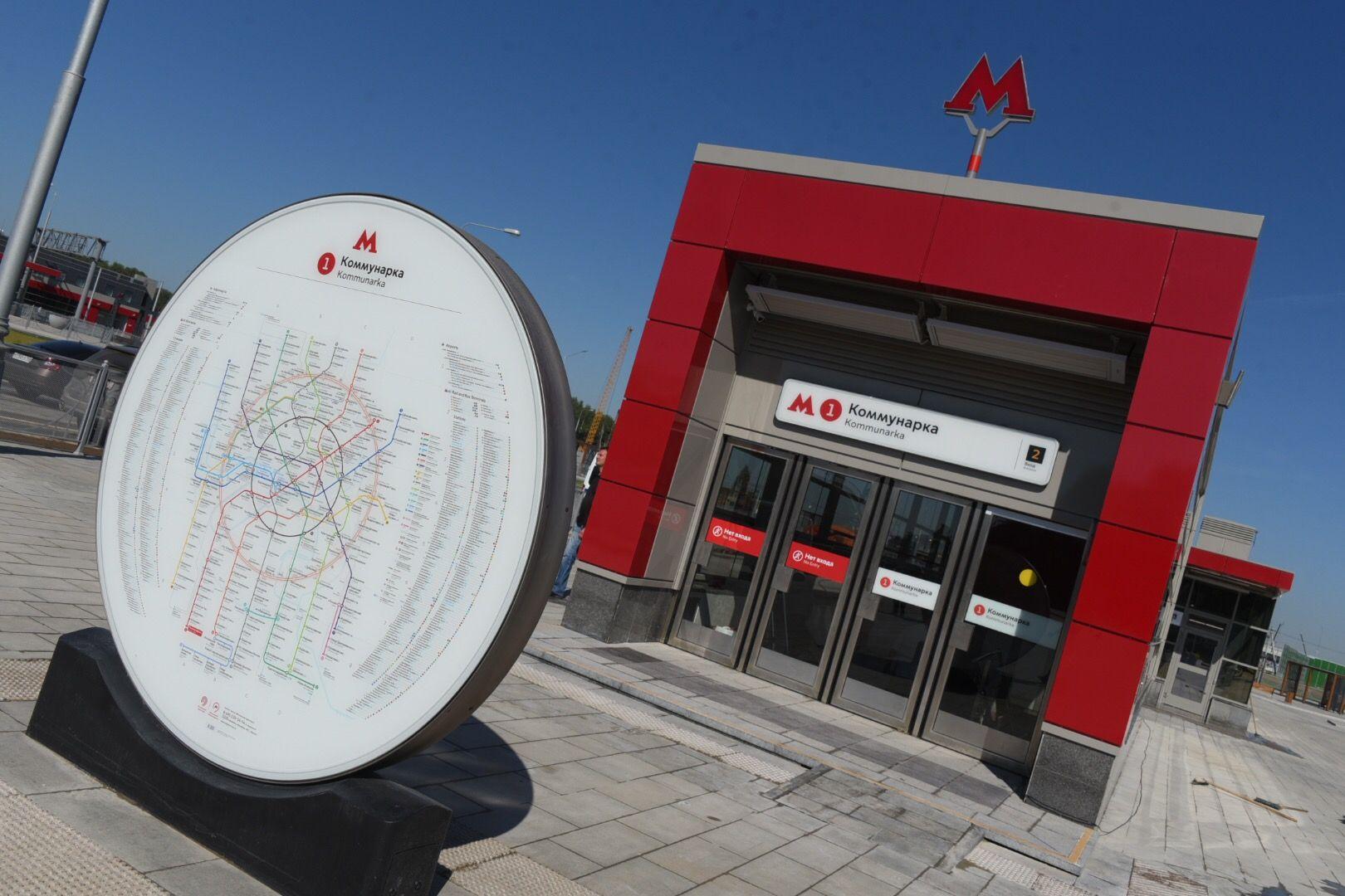 МЦК и метро получили более 500 навигационных элементов перед продлением Сокольнической линии