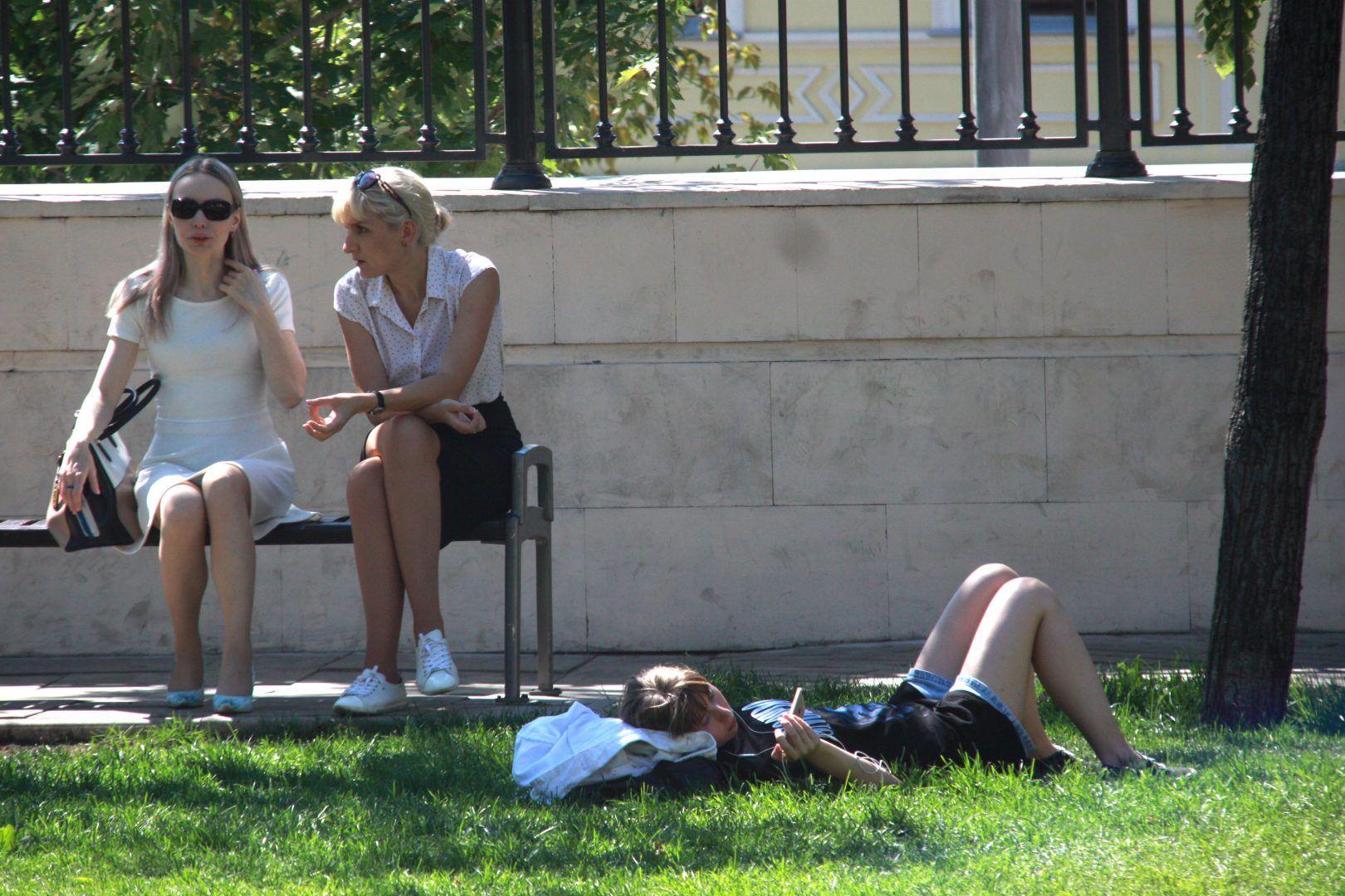 Московская жара может побить температурный рекорд 1948 года.Фото: архив, «Вечерняя Москва»