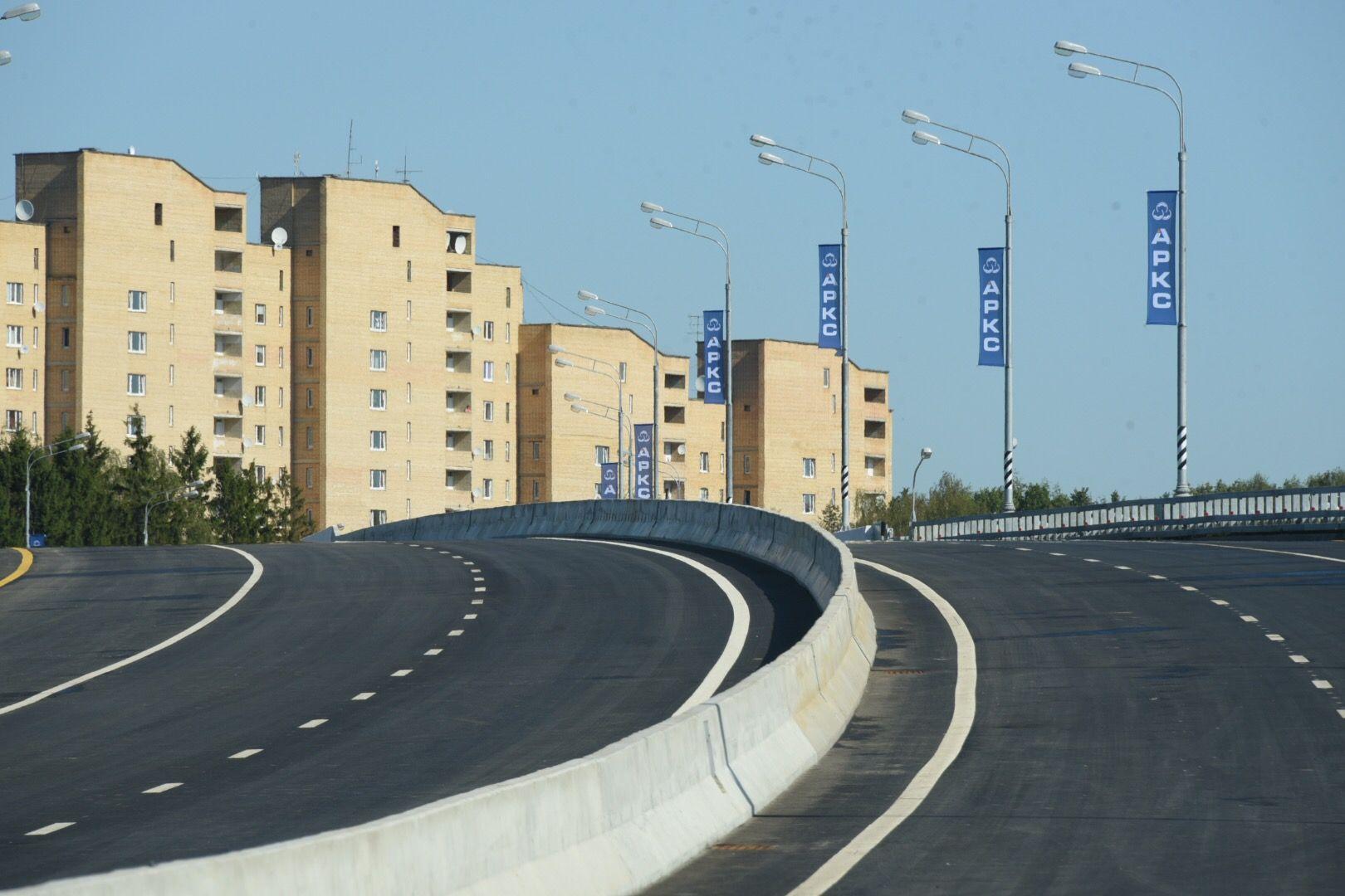 Съезд с Калужского шоссе улучшит транспортную доступность территорий Новой Москвы