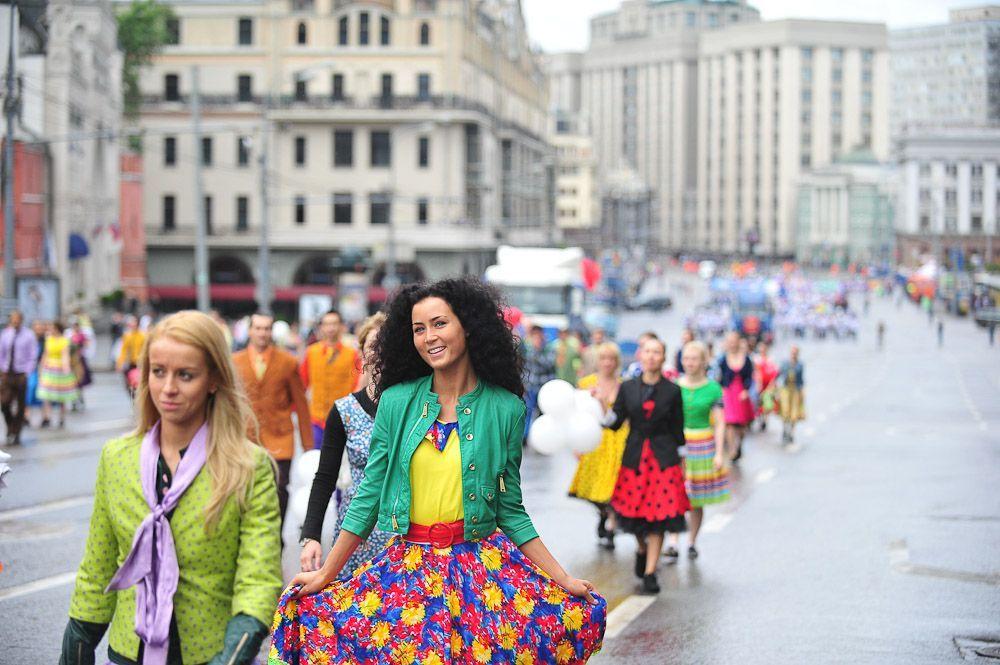 Москвичей ждет небольшой дождь в День России