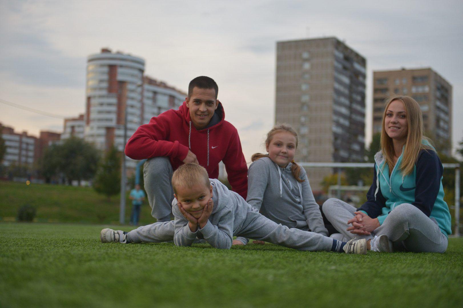 Спортсмены и Сосенского стали призерами соревнований. Фото: Александр Казаков, «Вечерняя Москва»