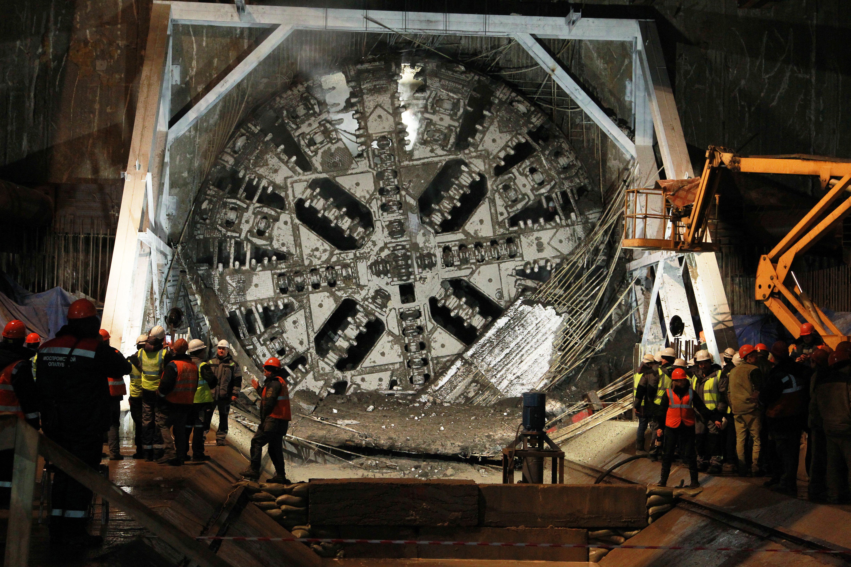 Приоритетным проектом метростроения является БКЛ. Фото: Наталия Нечаева, «Вечерняя Москва»