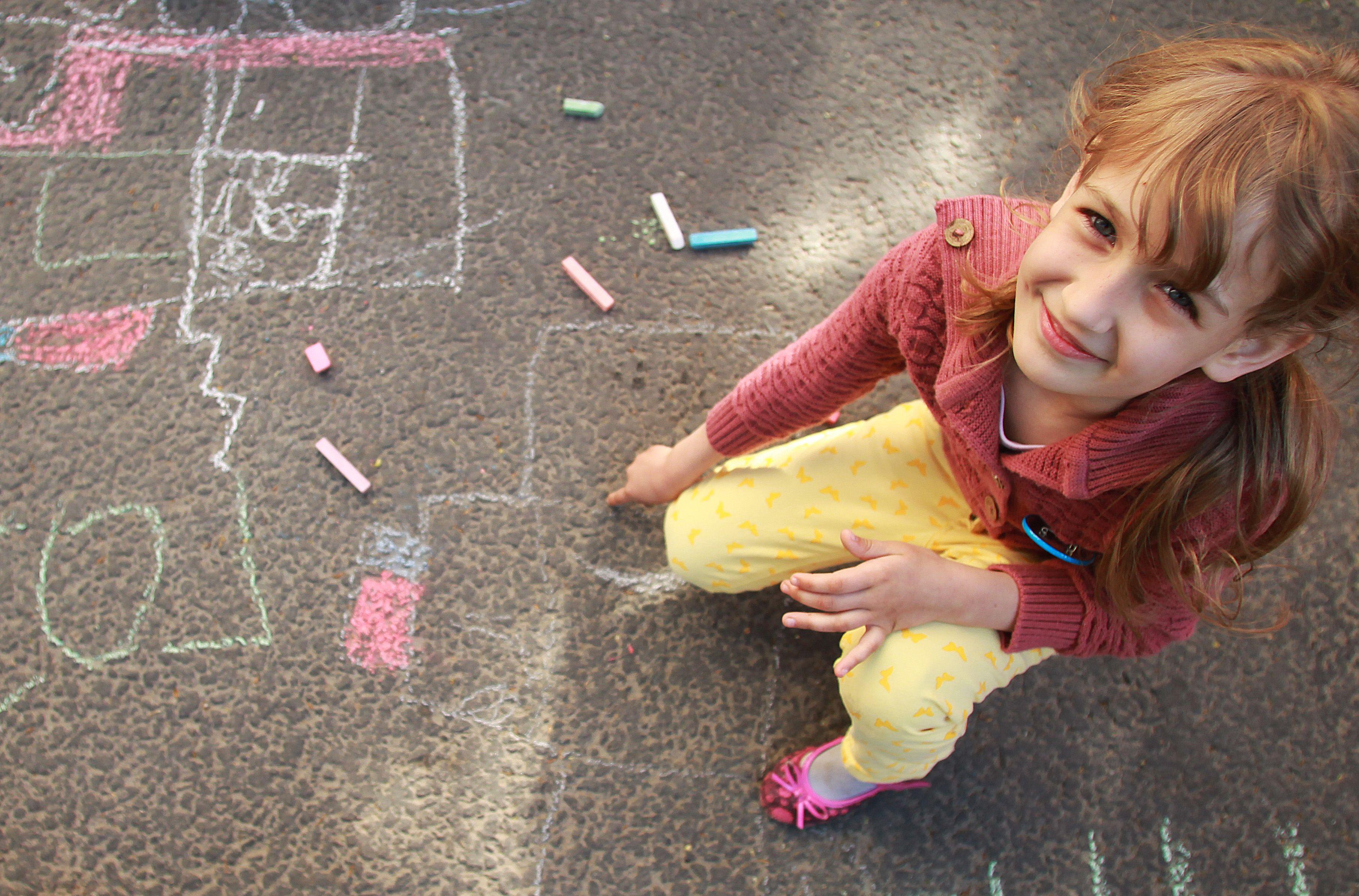 Дети создадут рисунки на асфальте в Первомайском