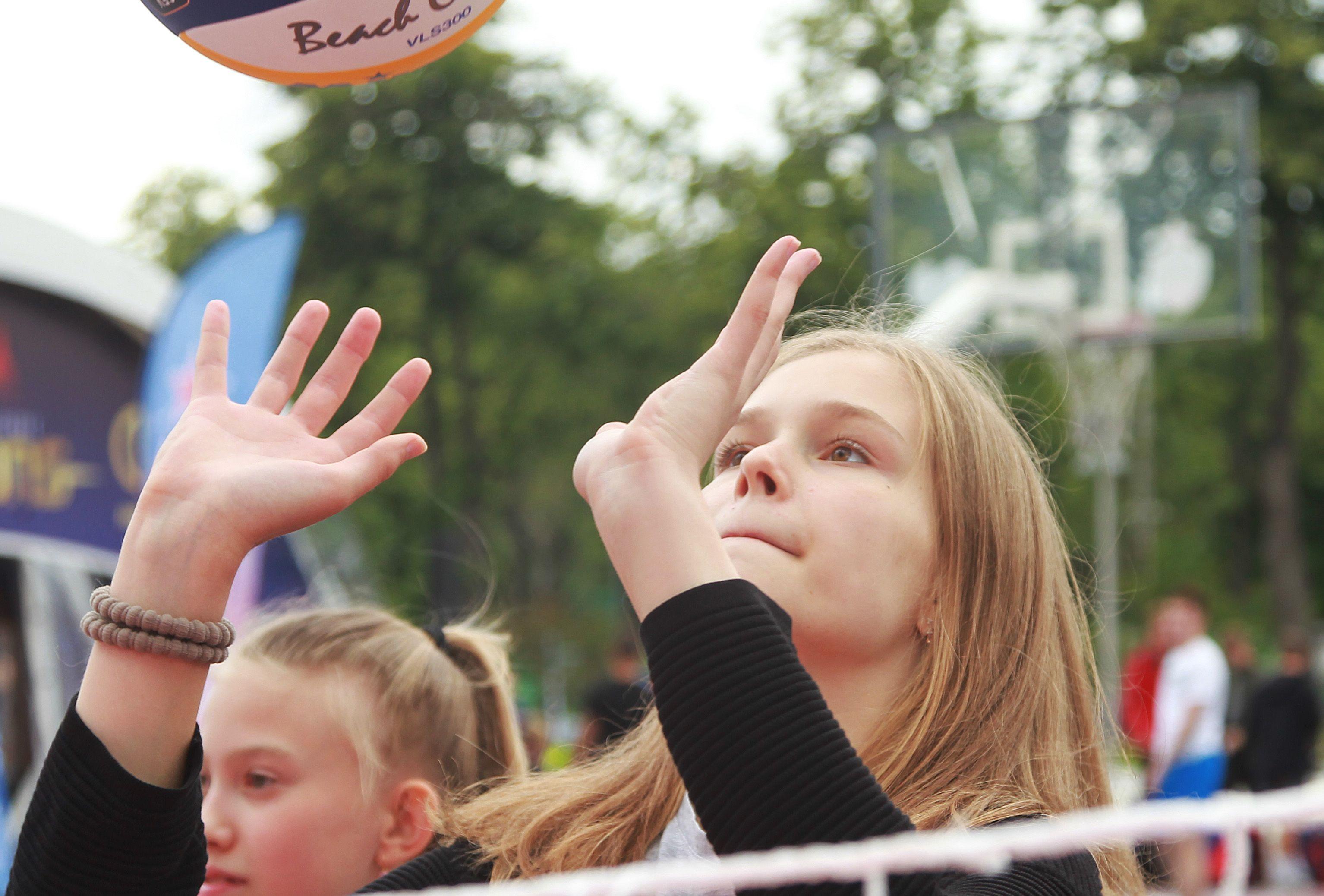 Соревнования по пляжному волейболу организуют в Сосенском