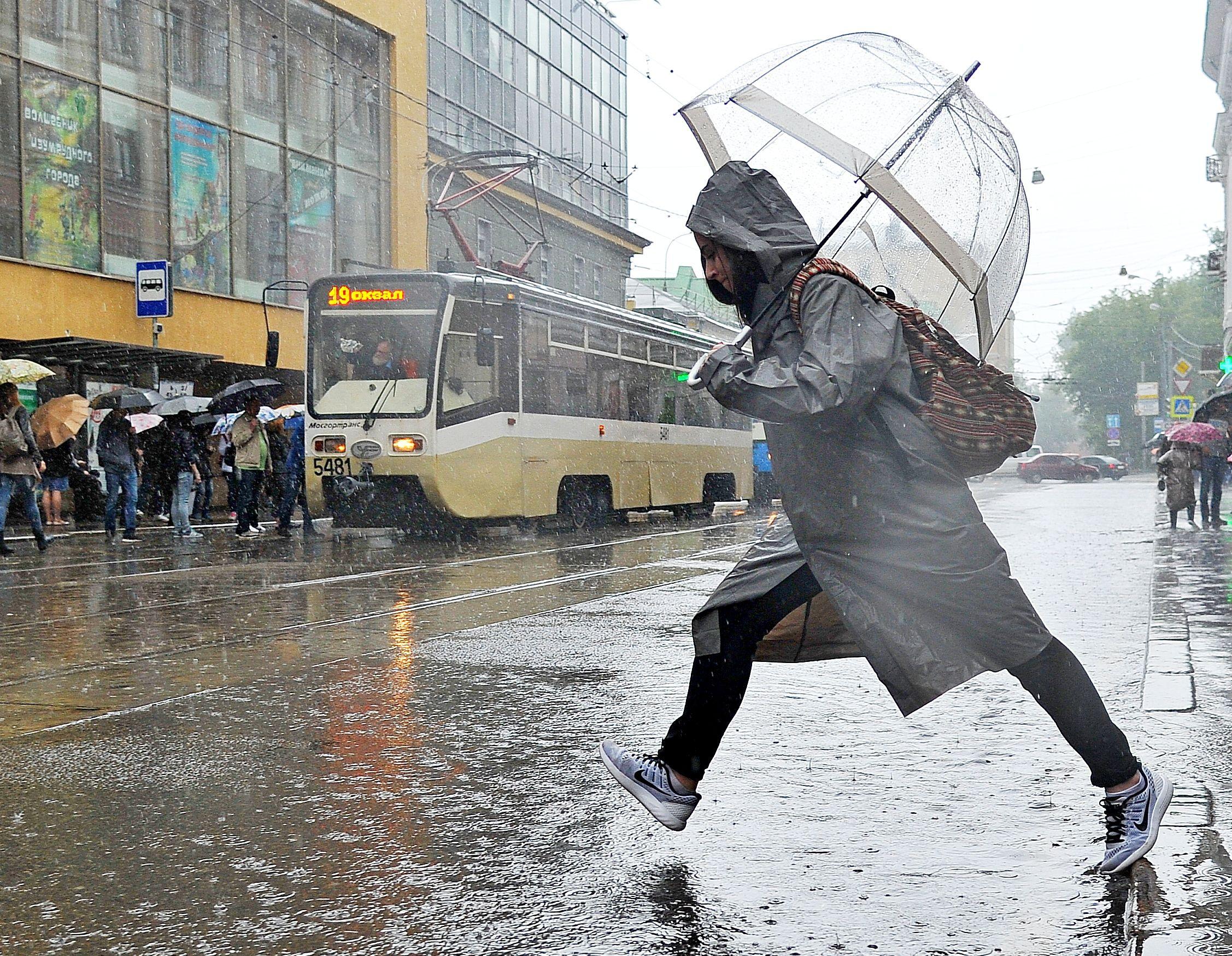 В столице выпало свыше 20% месячной нормы осадков. Фото: Светлана Колоскова