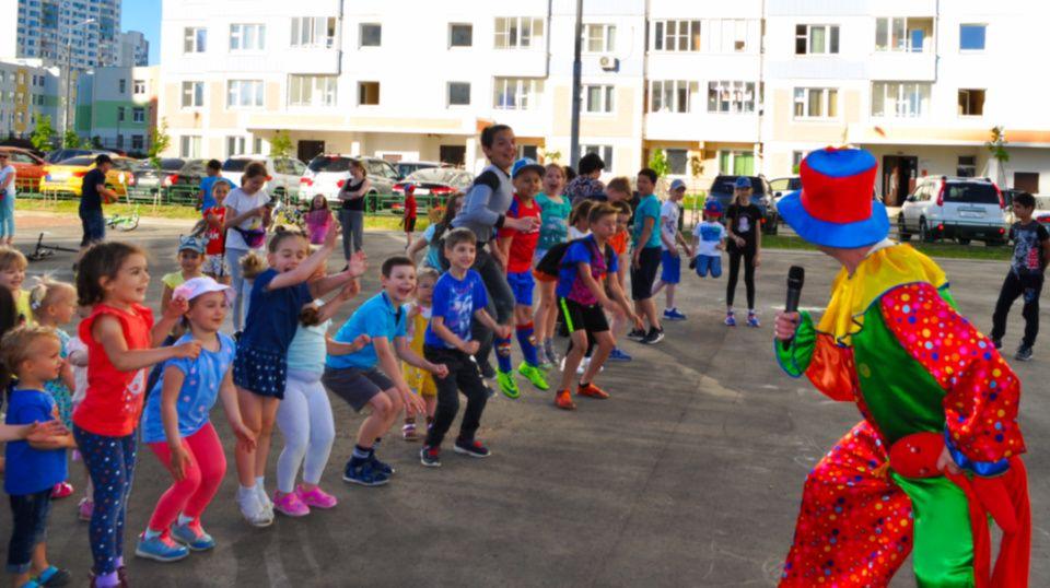 Традиционный детский праздник состоялся в Коммунарке