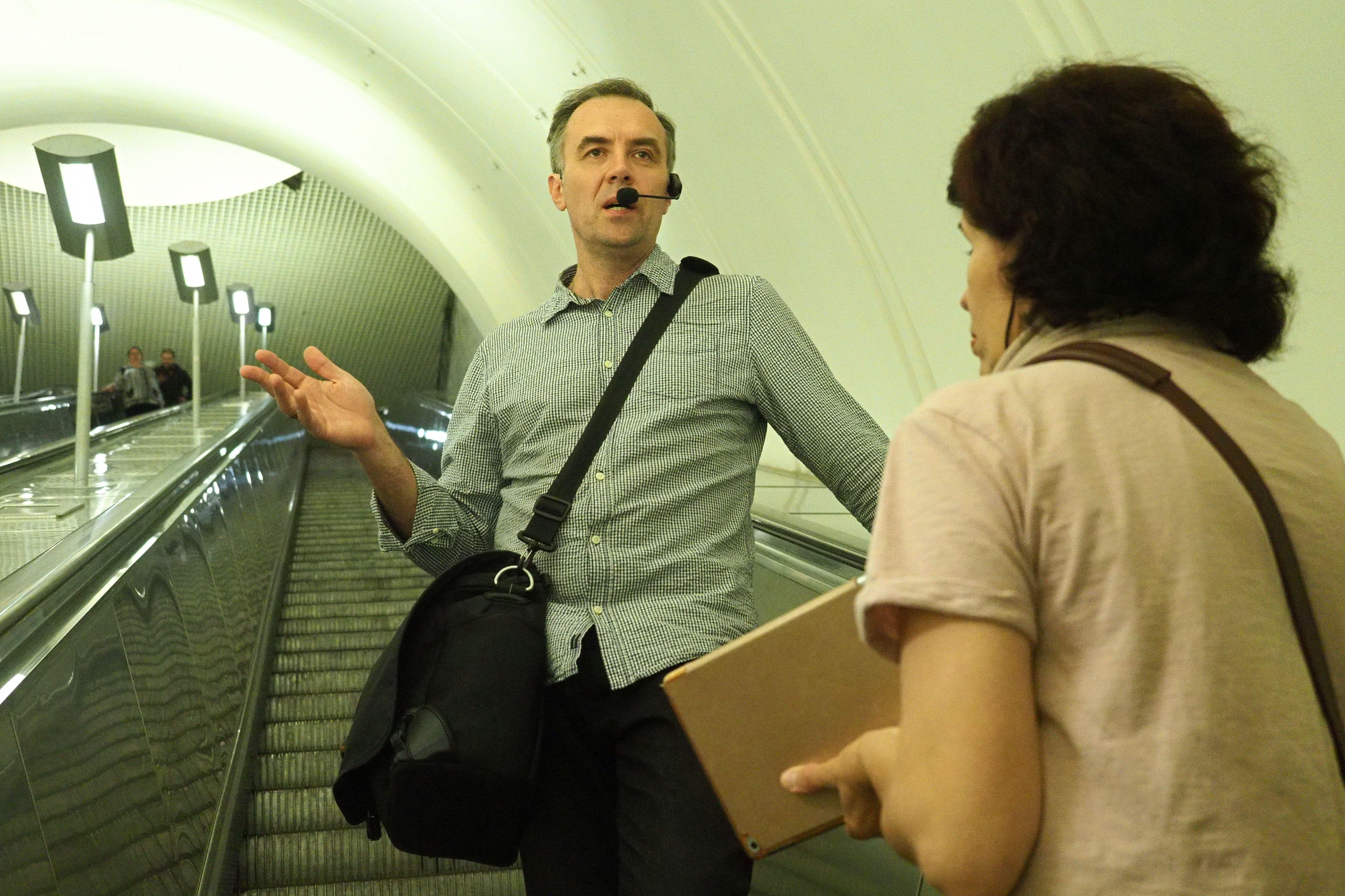 Популярность проекта «Экскурсии в метро» выросла в два раза