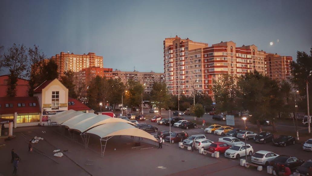 Площадь, которую благоустроят в поселке Знамя Октября. Фото предоставила администрация поселения Рязановское