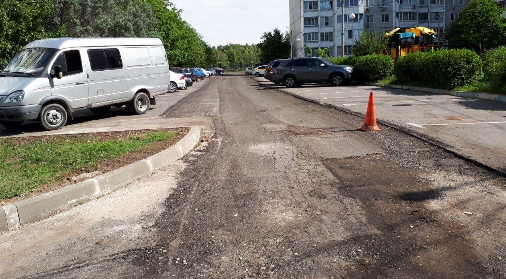 Дорогу обновят в поселении Мосрентген