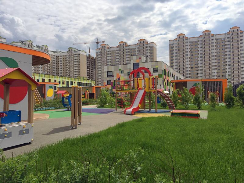 Семь детских садов откроют в Новой Москве к сентябрю 2019 года