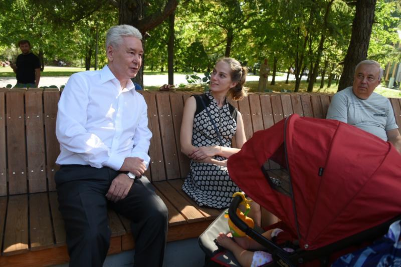 Собянин оценил новую фестивальную площадку в Косино-Ухтомском