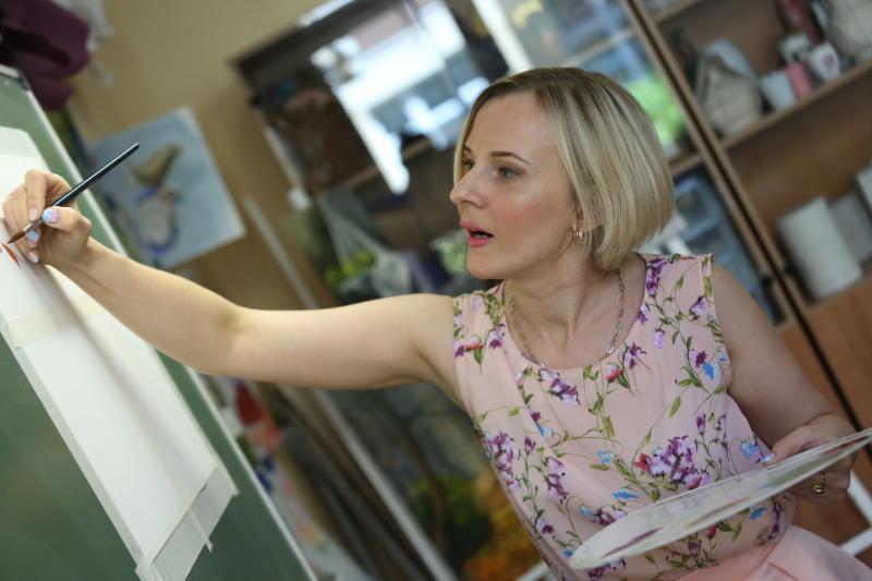 Семейные портреты научатся рисовать жители Новофедоровского