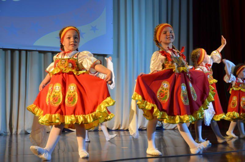 Юные артисты из Рязановского выступили на праздничном концерте