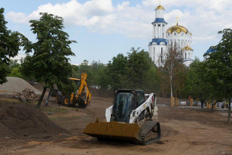 Уже этим летом в Бибирево завершится благоустройство «Парка Света»