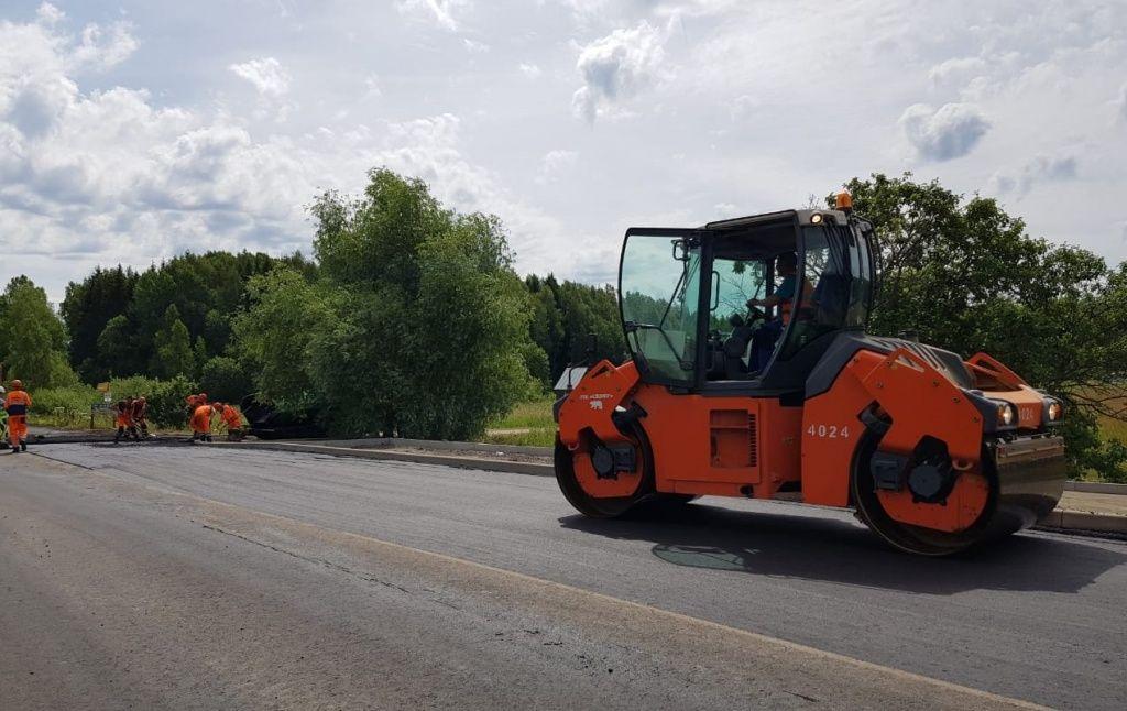 Дорогу в Кленовском отремонтируют до конца лета