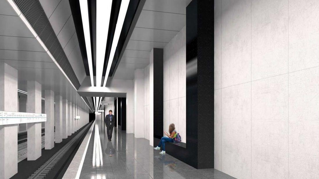 В Москве появится станция метро в стиле необрутализм