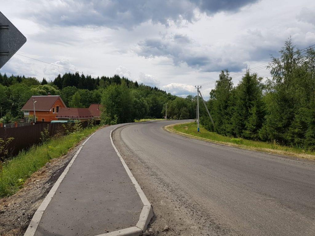 Новый этап благоустройства дороги начали в Кленовском