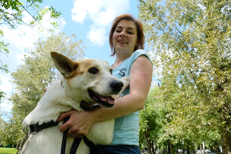 Нужно больше играть с собакой. Фото: Максим Аносов