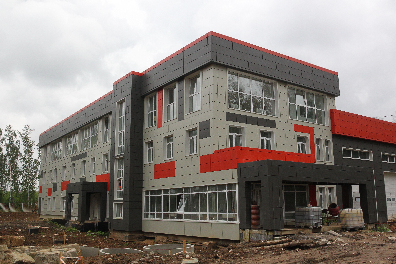 Строиться пожарное депо