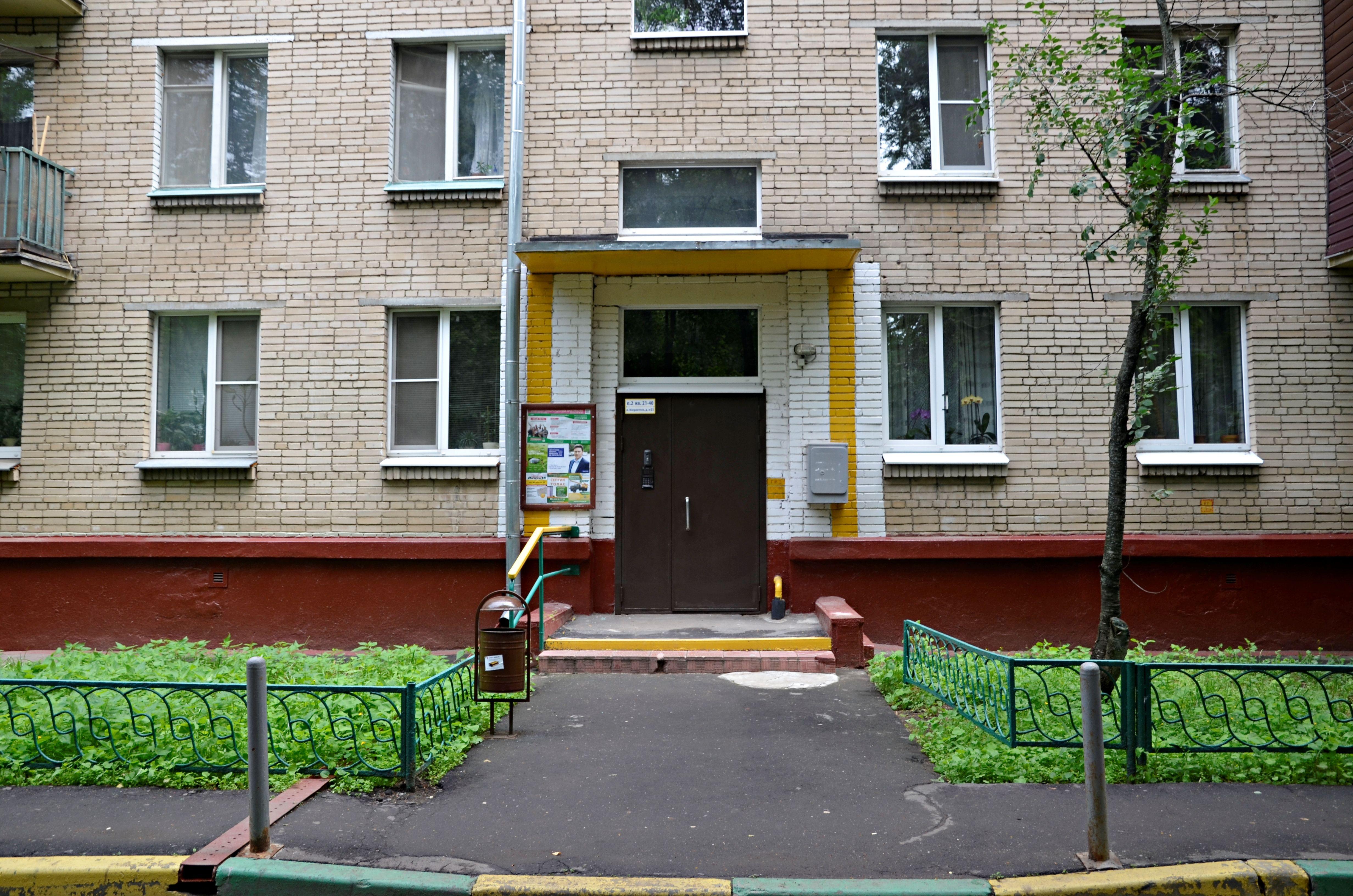 Подъезды домов приведут в порядок в Роговском