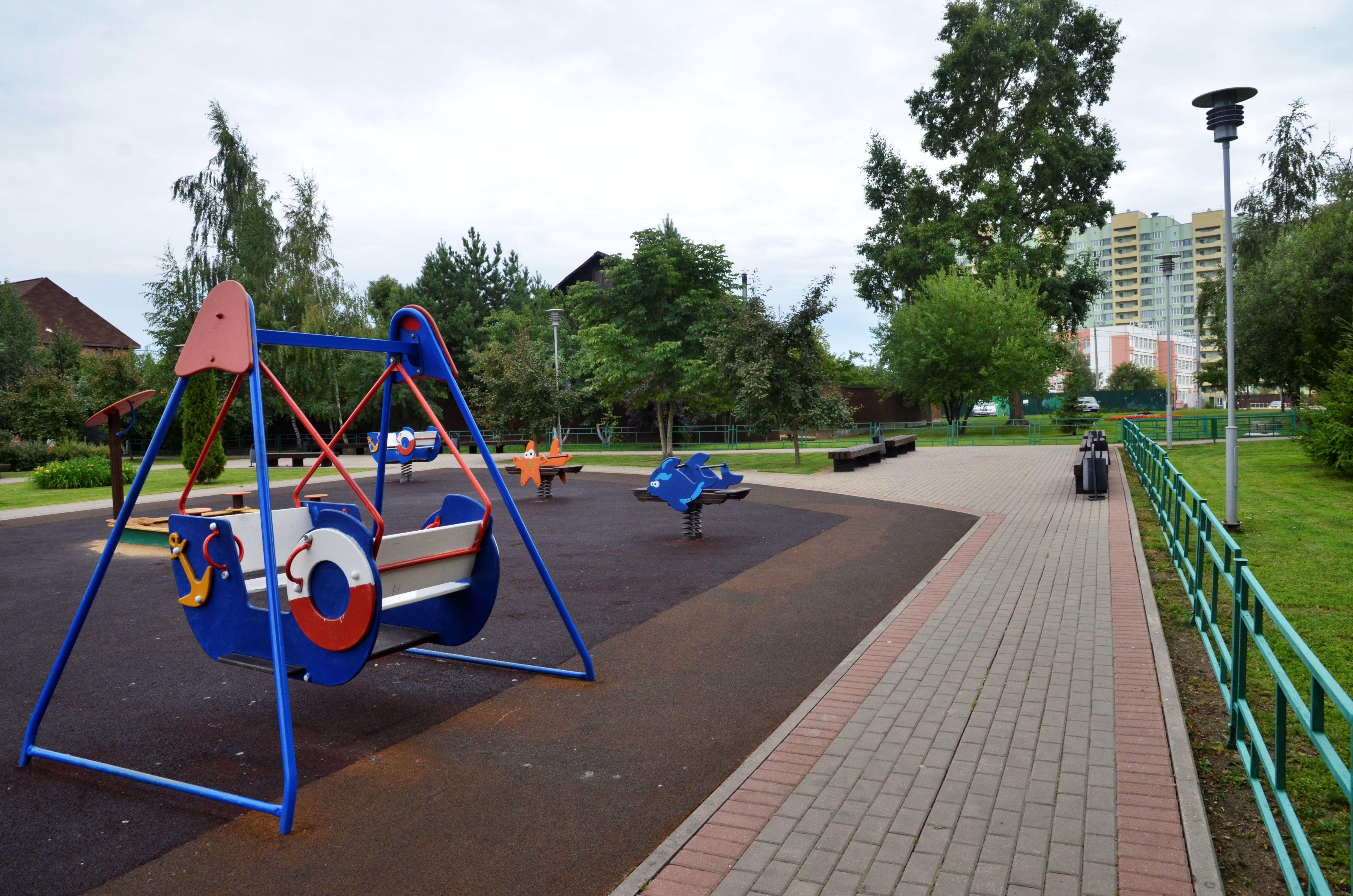 Программу благоустройства реализуют в Марушкинском