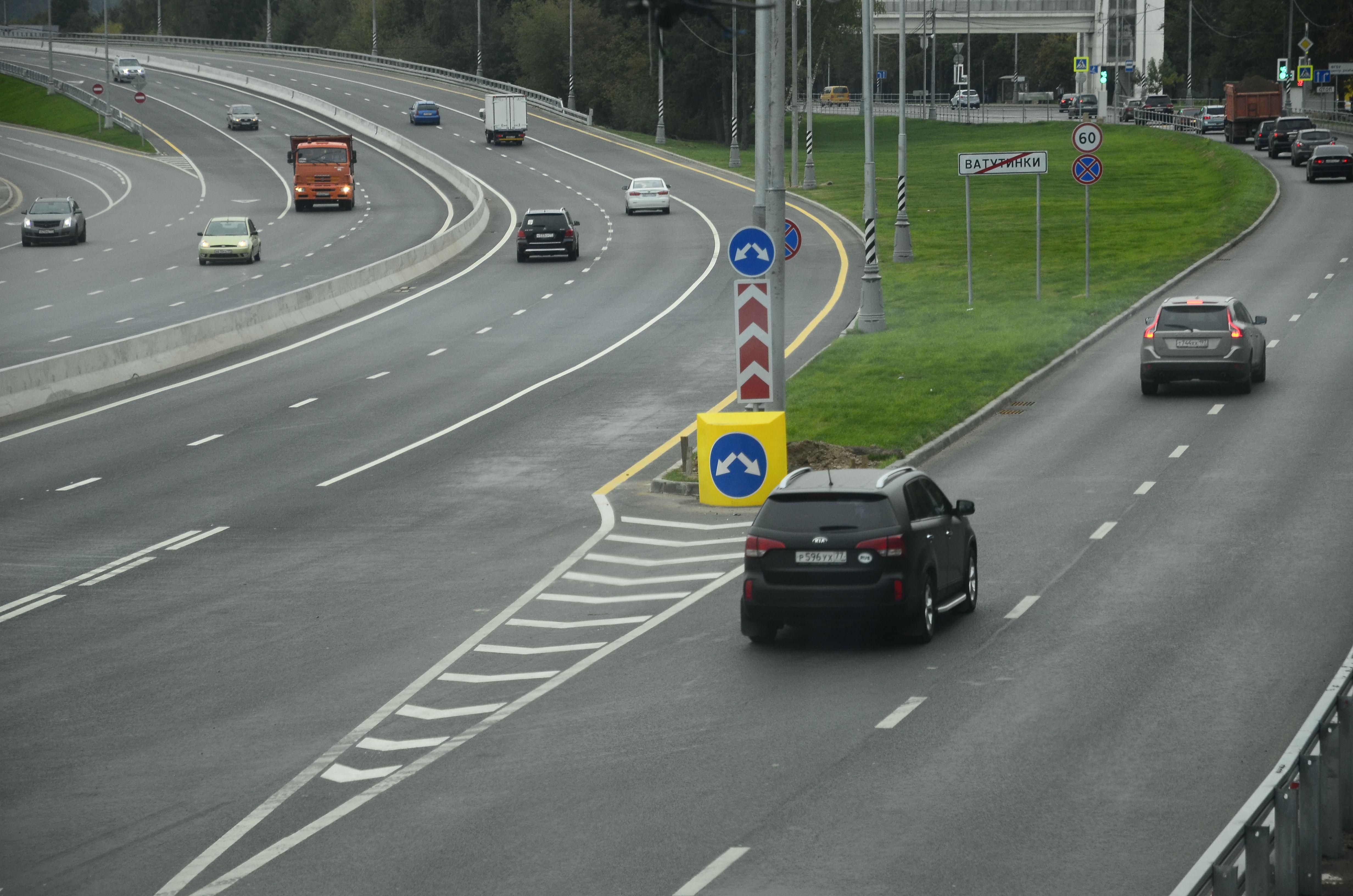 Более 190 километров дорог создали в Новой Москве с 2012 года