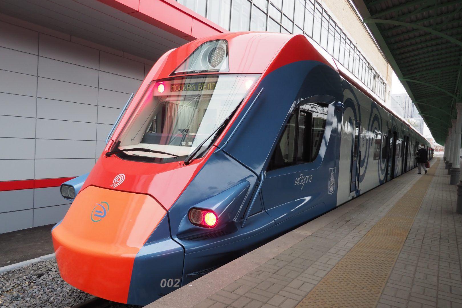 По МЦД будут курсировать поезда «Иволга». Фото: Антон Гердо