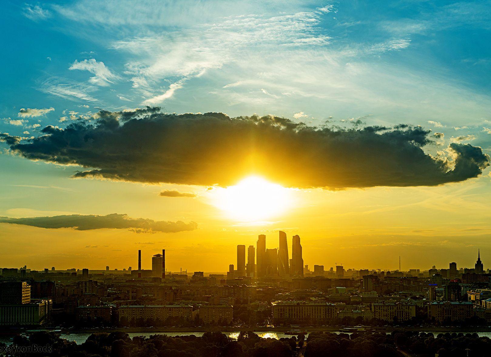 Москву назвали самым «парковым» мегаполисом мира