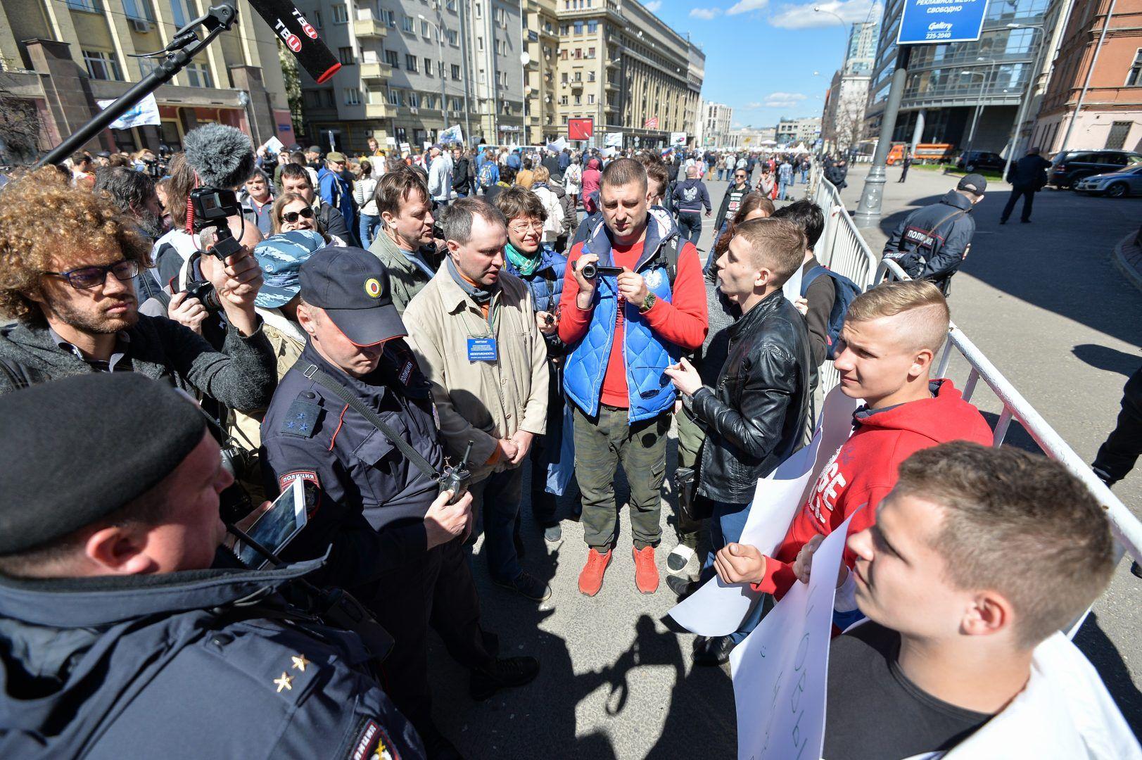 Мэрия согласовала митинги по выборам на 20 и 21 июля.Фото: архив, «Вечерняя Москва»