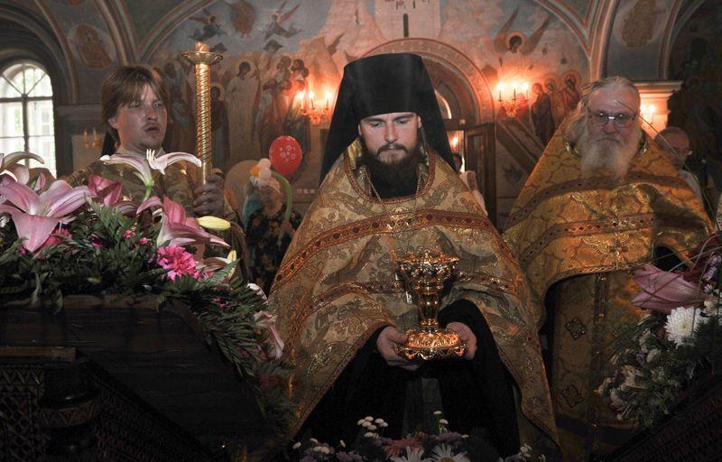 Мощи Петра и Февронии привозят в столицу.Фото: архив, «Вечерняя Москва»