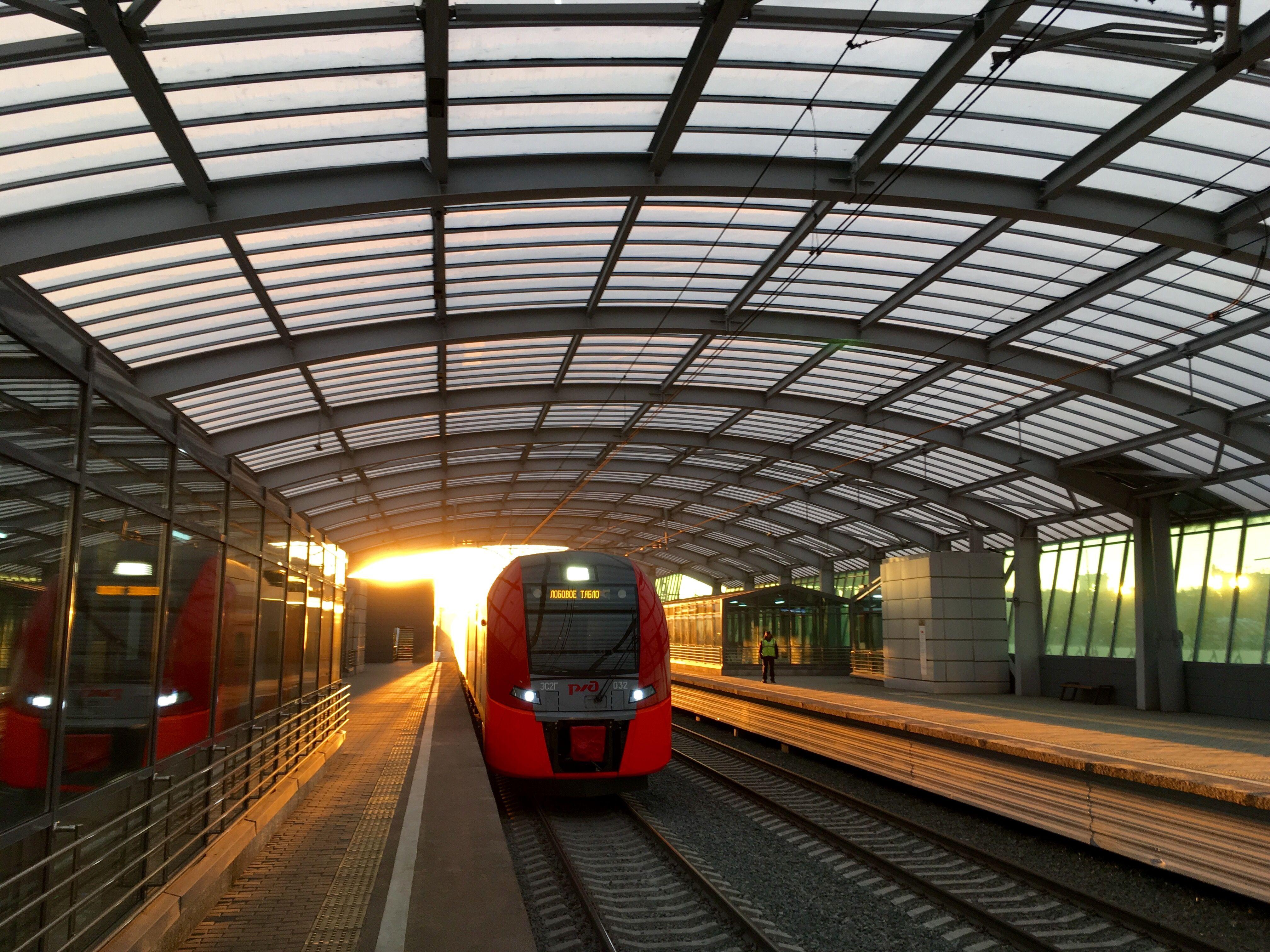 Время ожидания поездов на МЦК сократится из-за концерта Rammstein