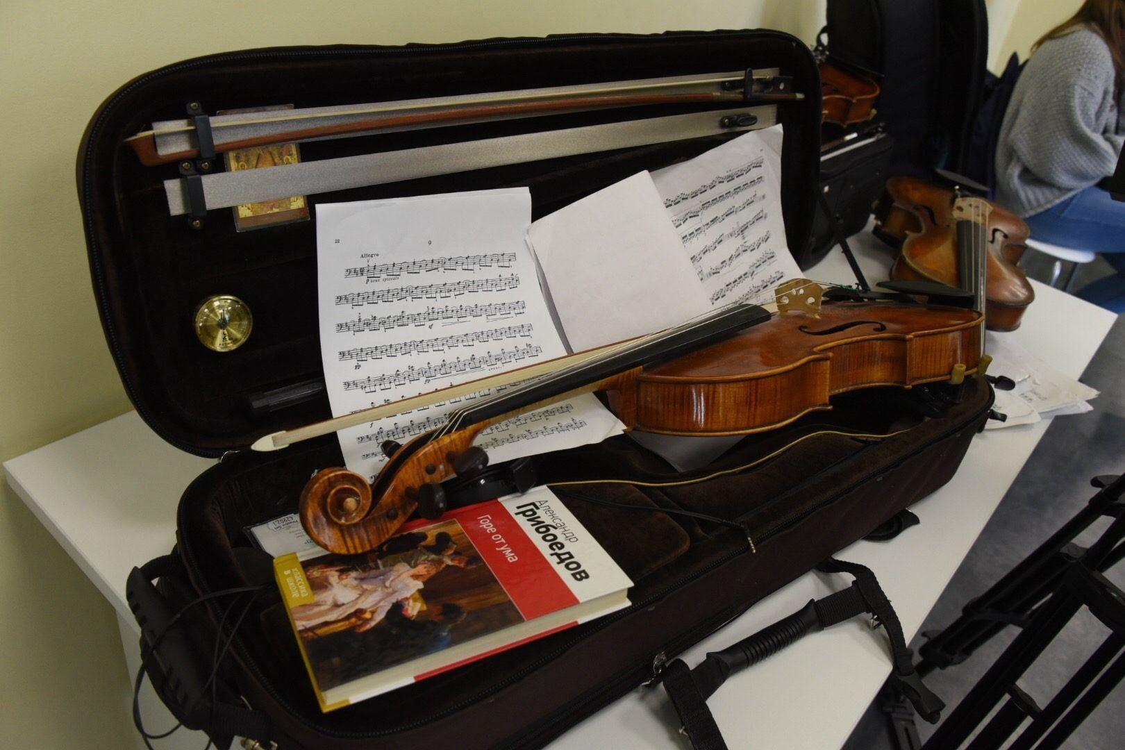 Подготовку к новому учебному году начнут в музыкальной школе Новофедоровского. Фото: Владимир Новиков, «Вечерняя Москва»
