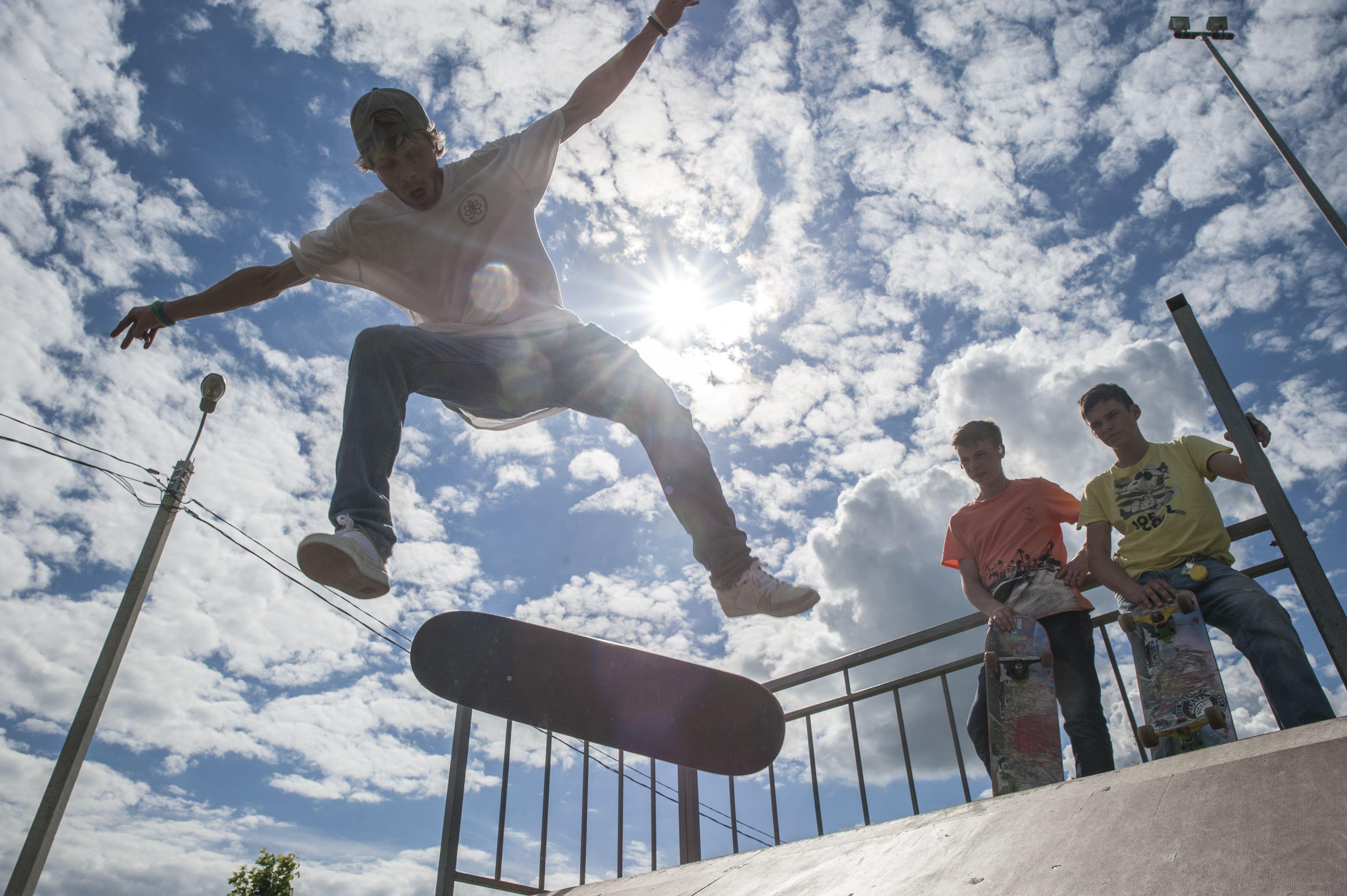 Скейтпарк создадут для жителей Сосенского