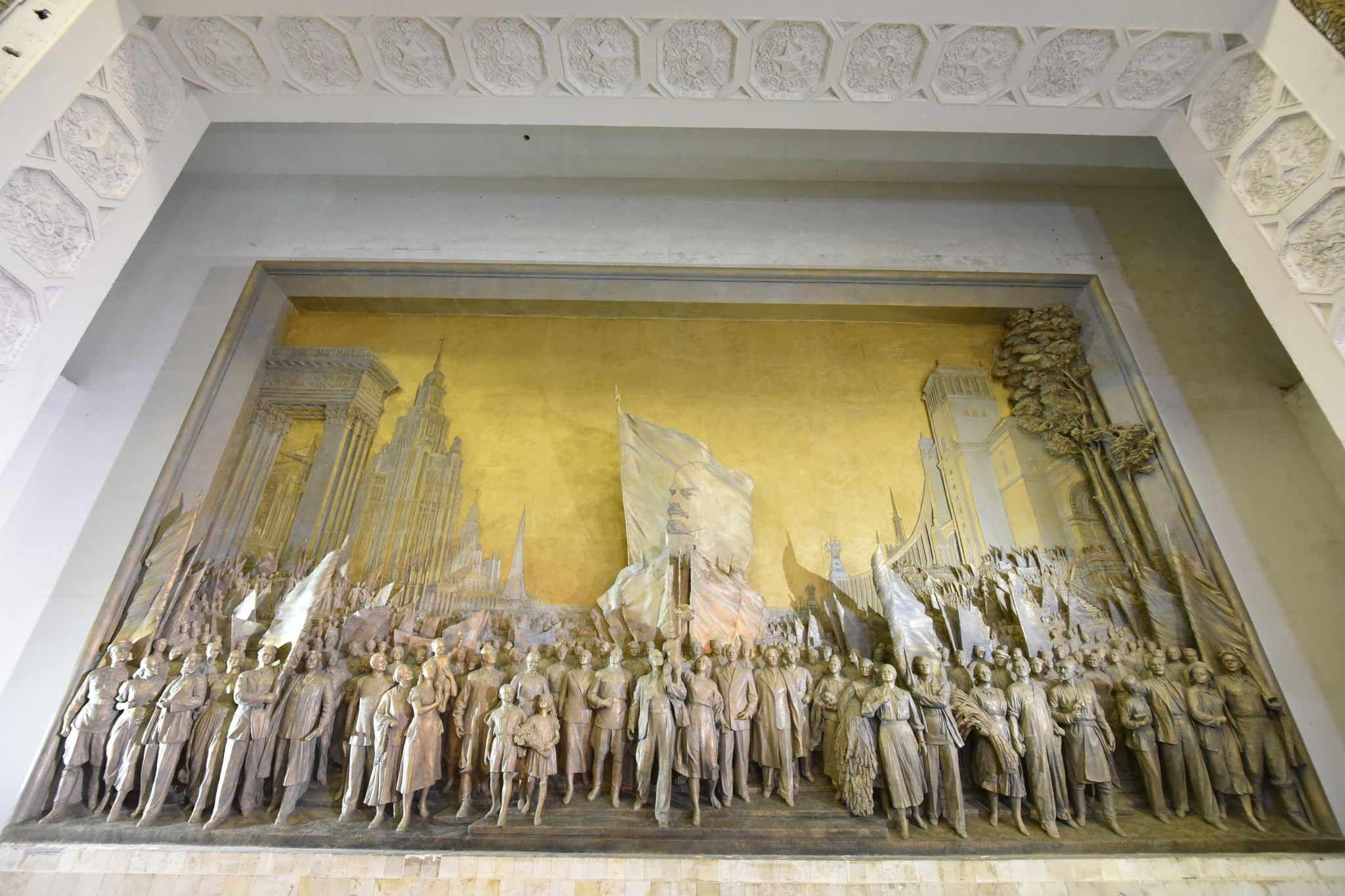 Современные художники покажут москвичам работы на тему ВДНХ