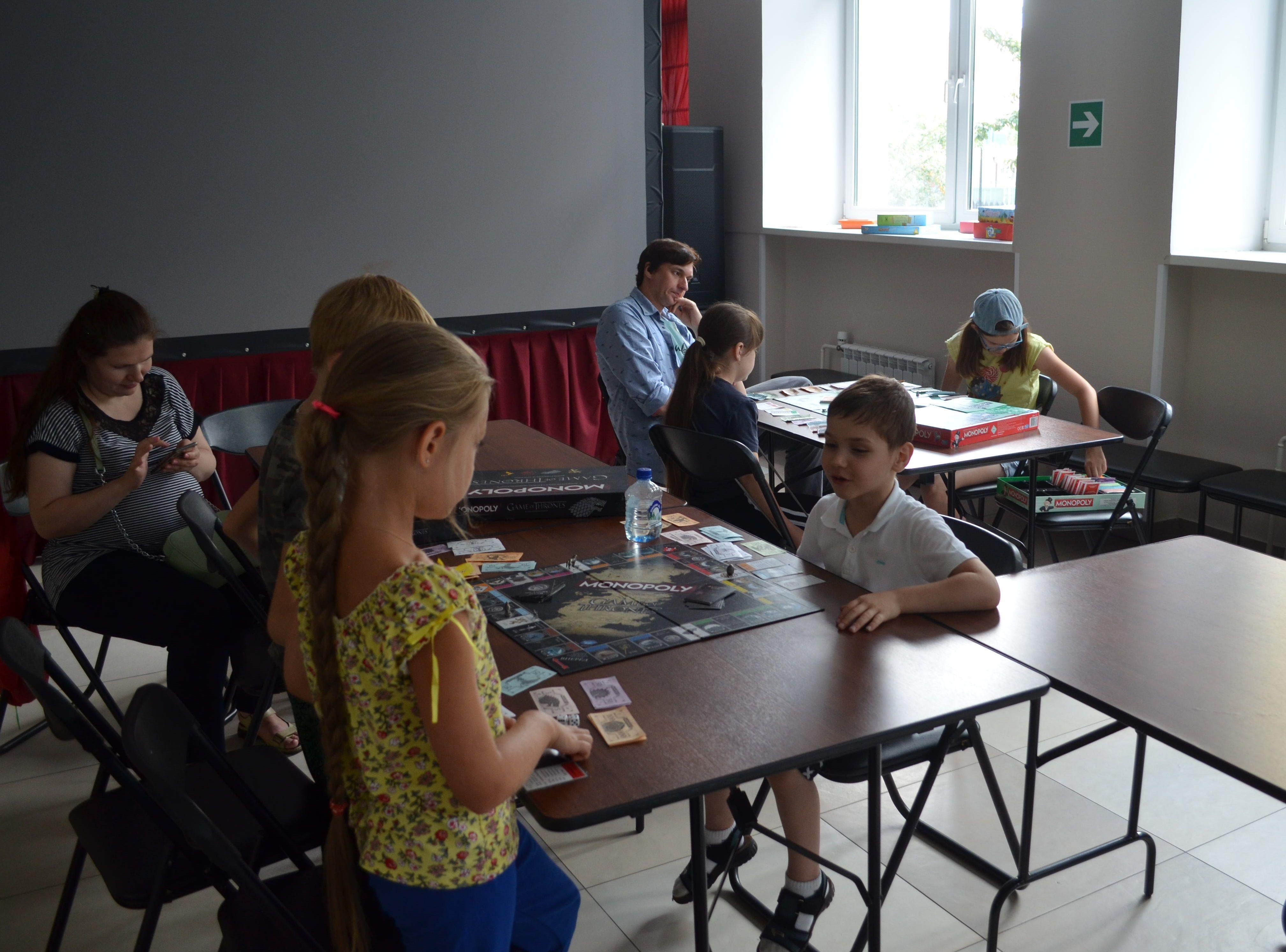 Марафон настольных игр состоялся в Коммунарке
