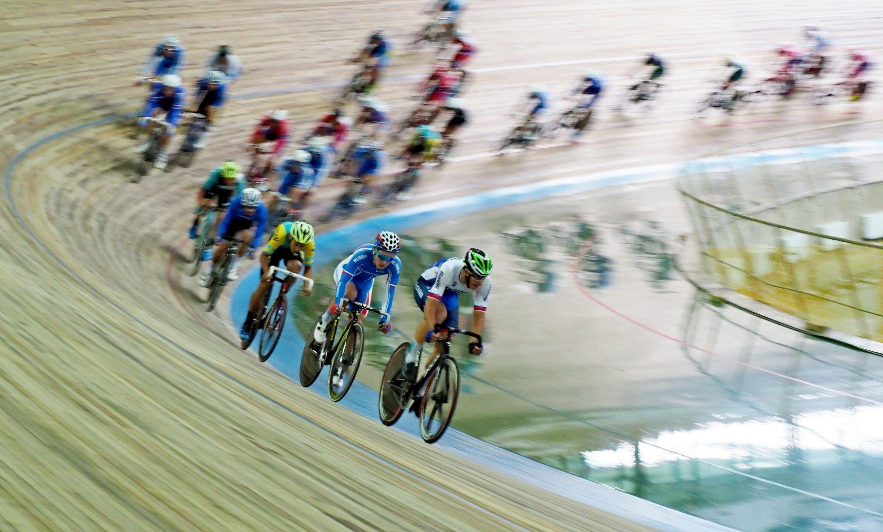 Спортсмены из Краснопахорского выступят на соревнованиях по велоспорту в Латвии. Фото: Антон Гердо, «Вечерняя Москва»