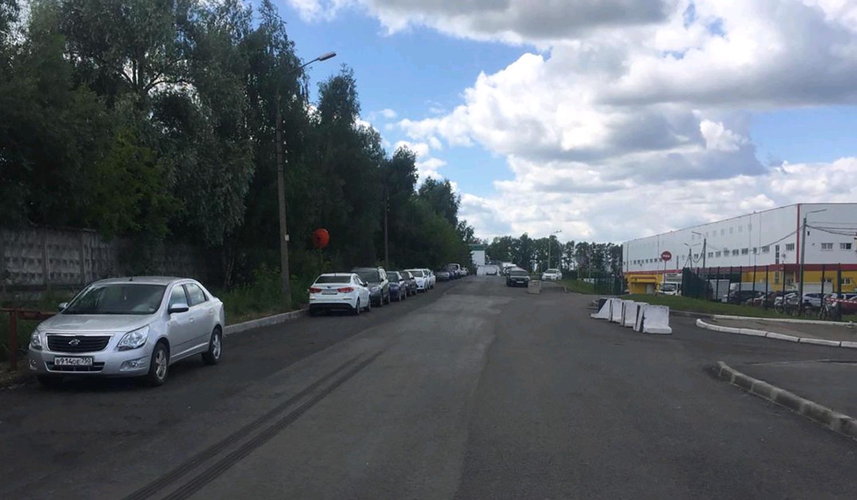 Парковочное пространство обустроили в Рязановском