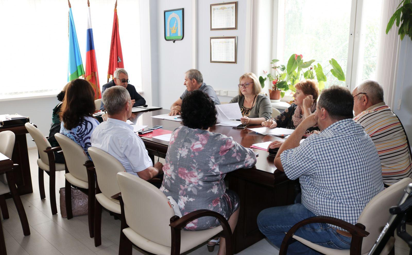 Встреча депутатов состоялась в Рязановском