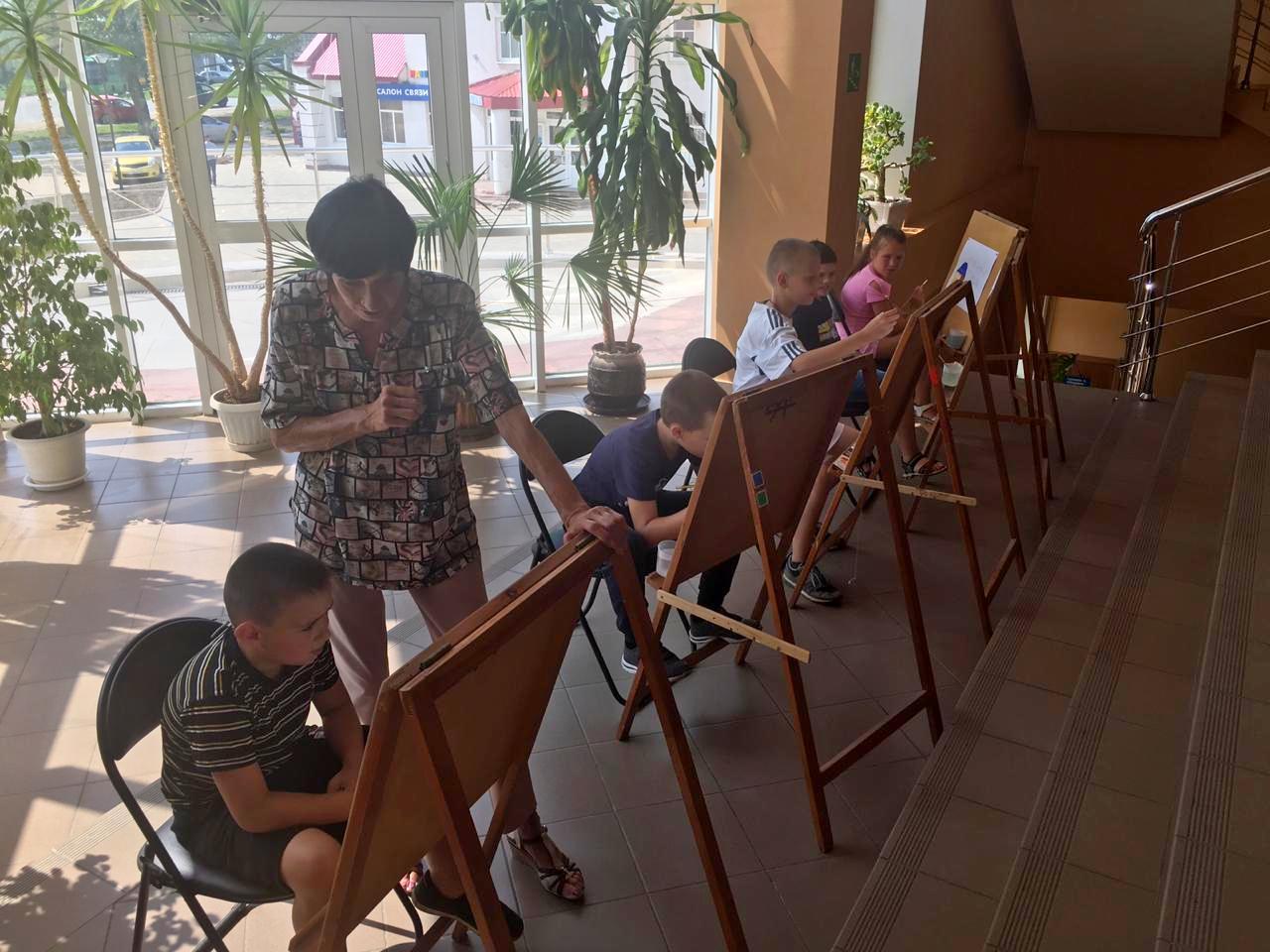 Художественную акцию провели в поселении Рязановское