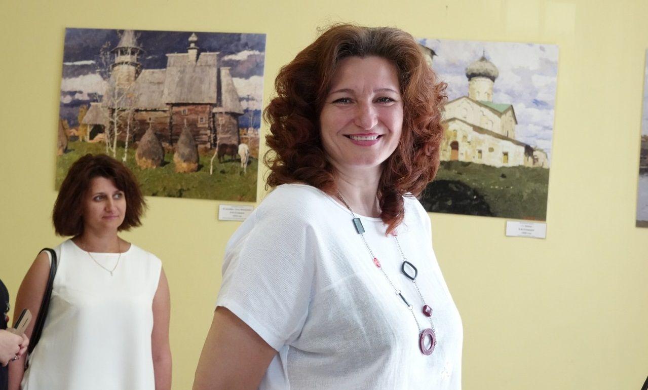 Художественную выставку открыли в Кокошкино